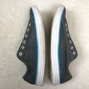 67516932c3f806 Converse Shoes - Converse Chuck It Blue Gray Mesh Sneakers